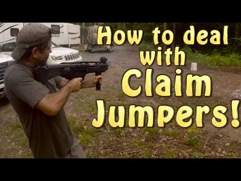 How To Deal With A Claim Jumper And Fun At Gold Camp AGP Se02 Ep06