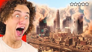 Reacting To THE END Of LOS SANTOS In GTA 5!