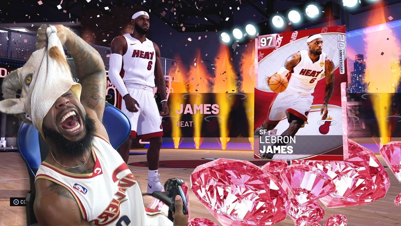 Pulling The Goat Pink Diamond Lebron James Pack Opening