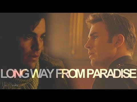 ϟ long way from paradise || Steve Rogers/Steve Trevor