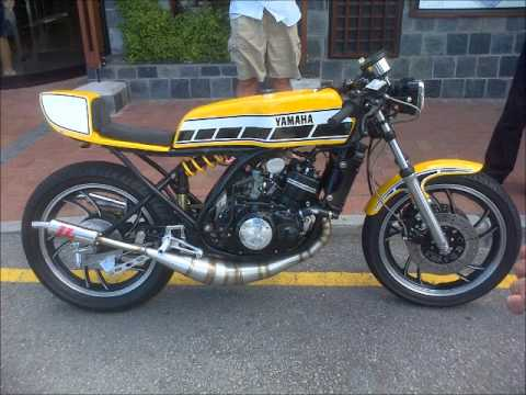 cafe racers of pe features mark jeppesen's rd350 cafe racer - youtube
