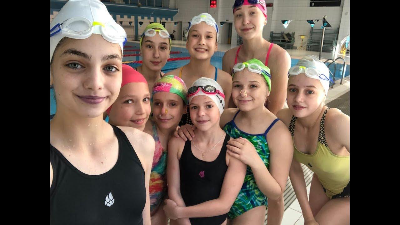 Синхронное плавание/После тренировки/СШОР №3 Калининского района/Под водой и над водой