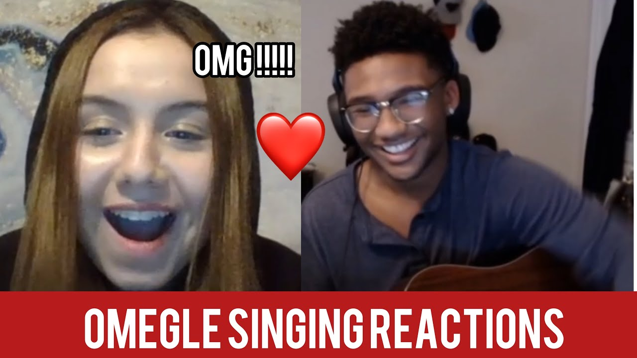 Download NERD SERENADES GIRLS ON OMEGLE | Omegle Singing Reactions *SHE FELL IN LOVE*