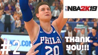THANKS FOR 1K SUBS! NBA 2K19 MY CAREER #2