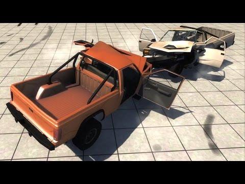 Zero Gravity Crashes - BeamNG.drive