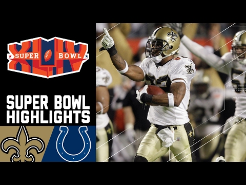Super Bowl XLIV Recap: Saints vs. Colts | NFL