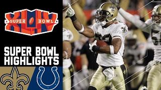 Super Bowl XLIV Recap: Saints vs. Colts | NFL
