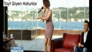 Ebru Yaşar Bacak Frikikleri Şeffaf Oda Video