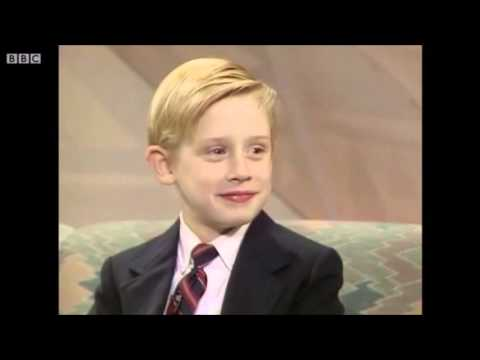 Macaulay Culkin on Wogan (1990)