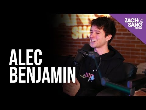 Alec Benjamin Talks &39;Narrated For You&39; John Mayer and Billie Eilish