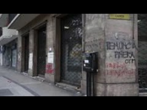 Protests Cause Huge Losses To Businesses In Chile
