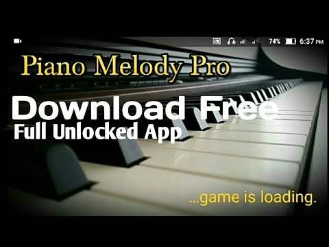 Piano Melody Pro Apk Full Unlocked Download For Free 2018