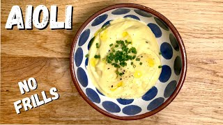 How To Make The BEST Aioli From Scratch | An Easy And Simple Aioli Recipe With A Twist!