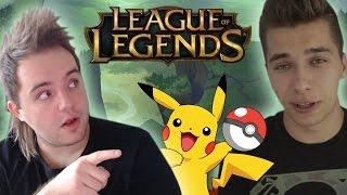 DIS I FRIZ GRAJĄ W LOLA?! (Gracze Pokemon GO na rankedzie!)