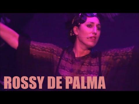 ROSSY DE PALMA  LEGGENDARY TIGERMAN AU CABARET NEW BURLESQUE & PONI HOAX CIRQUE D'HIVER PARIS LE 28