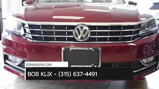 2018 Volkswagen Passat Keyless Entry Syracuse NY   Volkswagen Passat Dealer Fayetteville NY