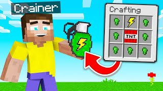 10 NEW MODDED GRENADES That MINECRAFT Should ADD!