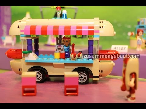 How To Make A Lego Hot Dog Stand