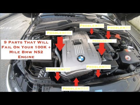 9 Parts That Will Fail On A 100K + Mile Bmw N52 Engine - YouTubeYouTube