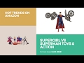 Supergirl Vs Superman Toys & Action Hot Trends On Amazon