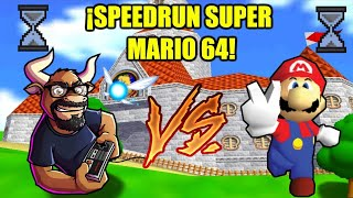 ¡En vivo Speedrun Super Mario 64! ¿Puedo lograrlo en menos de 17 minutos?