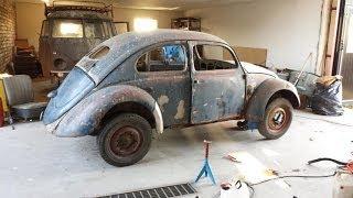 Vw Barndoor Bug In Progress! 2013