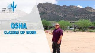 OSHA Classes of Work | The Asbestos Institute