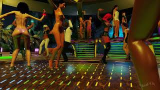"""3DXChat multiplayer game for adults. Music club """"Bora Bora"""" from Norizel"""