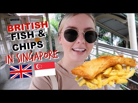 IS THIS BEST BRITISH FISH & CHIPS IN SINGAPORE?!