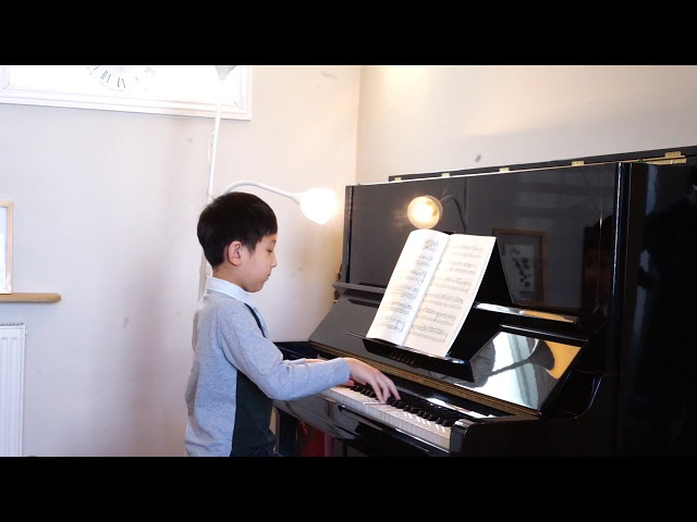 Henle Piano Competition 2020 - Daniel Xu