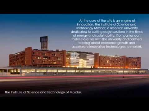 Sustainable urbanism and Masdar