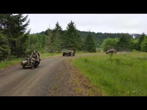 Achtung Panzer German Convoy