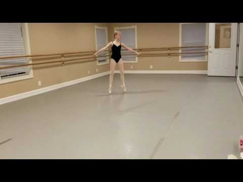 Ave Maria Academy of Ballet, Blythe Kara. Variation from Swan Lake.