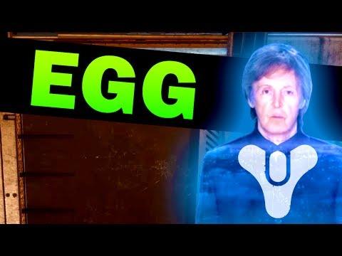 DESTINY 2 EASTER EGG - Secret Paul McCartney Music