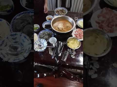 The breakfast in Qingdao
