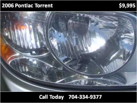 2006 Pontiac Torrent Used Cars Charlotte NC