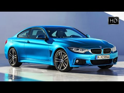 2018 BMW 4-Series (440i) Coupe M Sport Exterior Design Overview HD