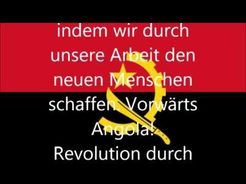 Nationalhymne von Angola (deutsche Übersetzung)