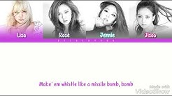 Download black pink whistle karaoke mp3 free and mp4
