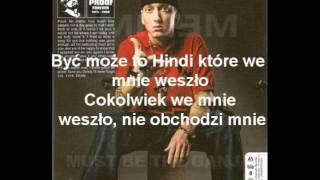 Eminem - must be the ganja PL TŁUMACZENIE