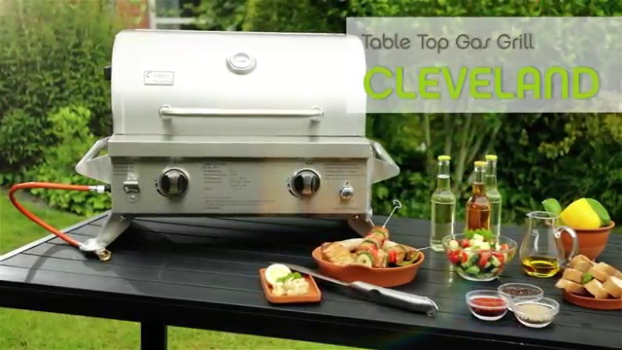 tepro table top gas grill cleveland youtube. Black Bedroom Furniture Sets. Home Design Ideas