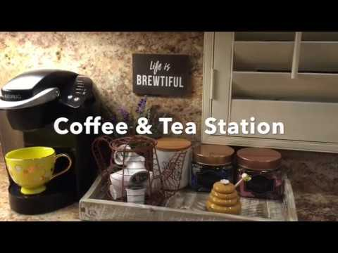 Diy Coffee Tea Station