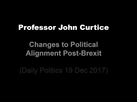 Prof. John Curtice - Changes to Political Alignment Post-Brexit