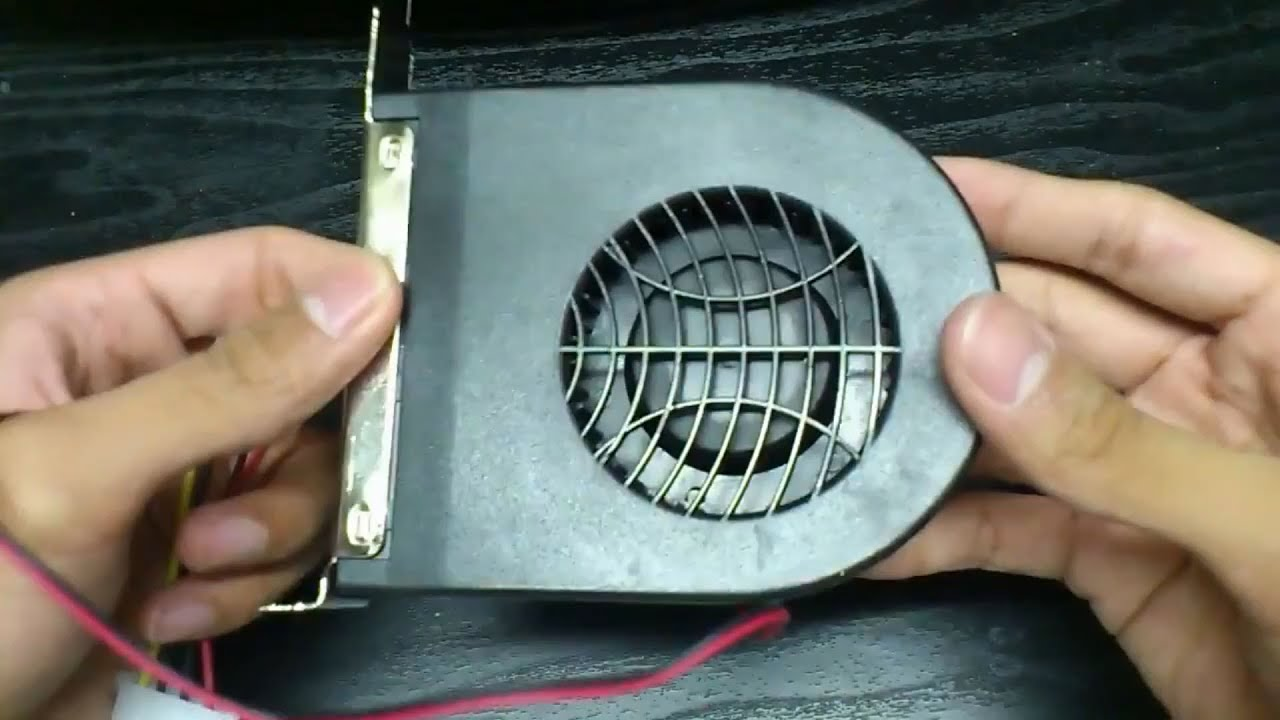 Pci Expansion Slot Exhaust Fan Keep That Pc Cool Youtube