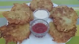Вкусные Драники из Картошки Классический Рецепт!!!