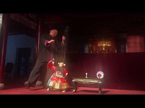 Traditional Puppet Show in Fujian Quanzhou (China) - 福建提线木偶