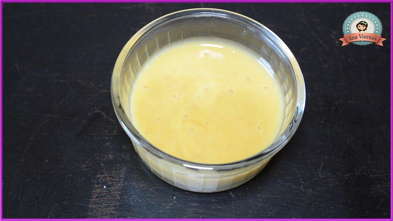 Aderezo de mostaza dulce con miel