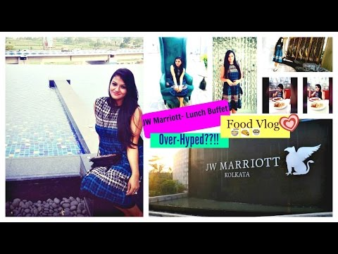 JW Marriot Kolkata| Lunch Buffet | Restaurant Vlog| Review| The Artists Gallery