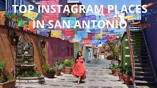 Top Instagram Photos in San Antonio Texas: Giant Boots, River Walk, Market Square, The Alamo