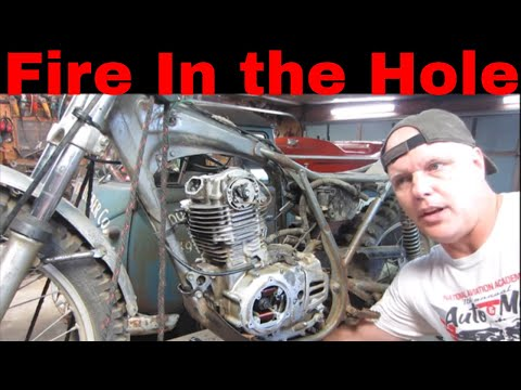 will it run? antique honda trials bike pt 2 of 2